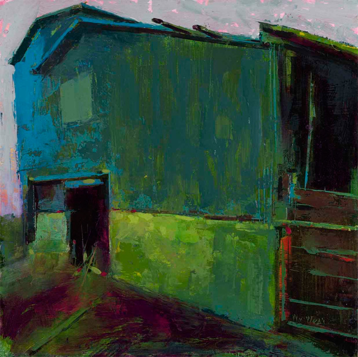 William wray urban landscapes for 24x16 shed